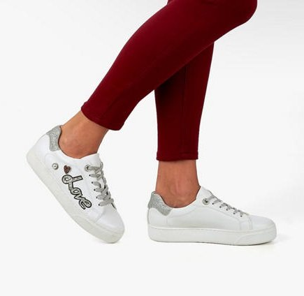 Schnell? Graceland Damen Sneaker in Weiß (Gr. 36 - 41) für 7,45€ inkl. VSK