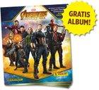 Gratis Album: Avengers Infinity War Sticker und Trading Cards Kollektion