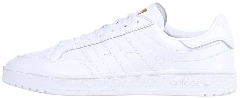 adidas Team Court Sneaker in Cloud-White