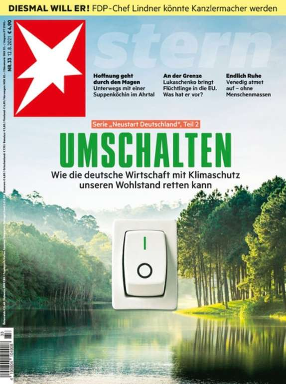 """Jahresabo """"Stern"""" (52 Ausgaben) für 265,40€ + z.B. 215€ Bestchoice Einkaufs-Gutschein"""