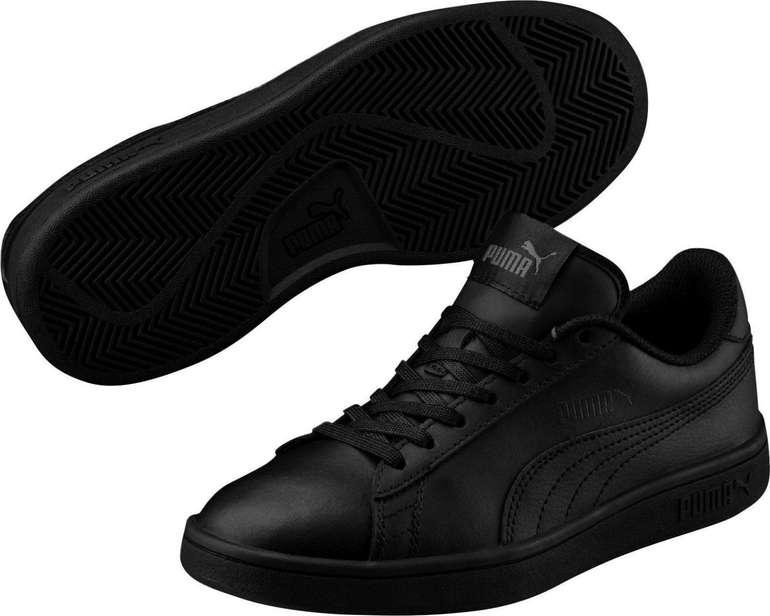 Puma Sneaker 'Smash v2 L Jr' in schwarz für 22,39€ inkl. Versand (statt 35€)