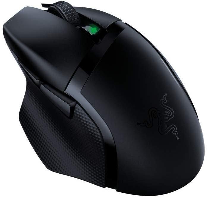 Razer Basilisk X HyperSpeed Gaming Maus (Kabellos, 5G Advanced und 6 freikonfigurierbaren Tasten) je 47,19€ inkl. Versand