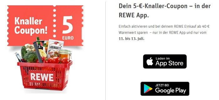 REWE-Rabatt-App