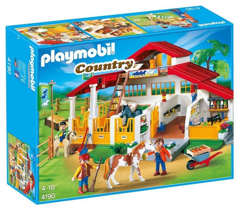 Playmobil - Moderner Reiterhof (4190) schon ab 39,99€ (statt 67€)