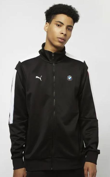 """Puma """"BMW T7 Track"""" Trainingsjacke in schwarz für 41,49€ inkl. Versand (statt 57€)"""