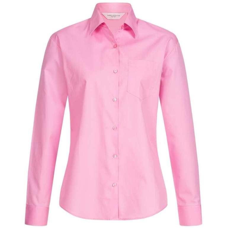 RUSSELL Damen- & Herren Hemden (verschiedene Modelle) ab 3,33€ zzgl. Versand