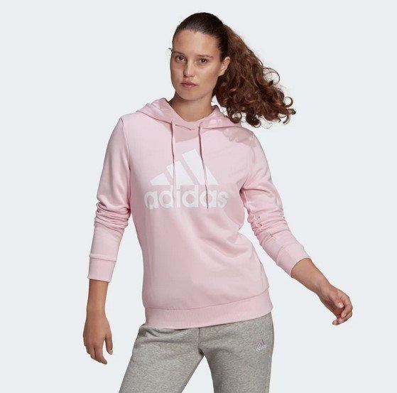 Adidas Essentials Relaxed Logo Damen Hoodie für 29,75€ inkl. Versand (statt 38€)