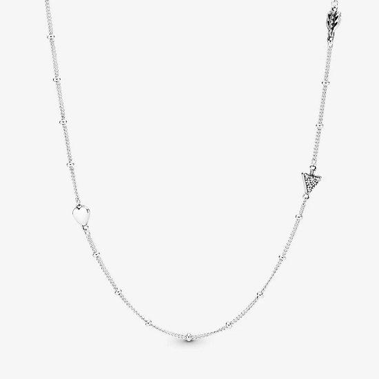 Pandora funkelnder Pfeil Halskette 2