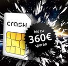 Crash Tarife: 2GB Smartphone Flat + 100 Min. für 4,99€ mtl. - 4GB Allnet 9,99€