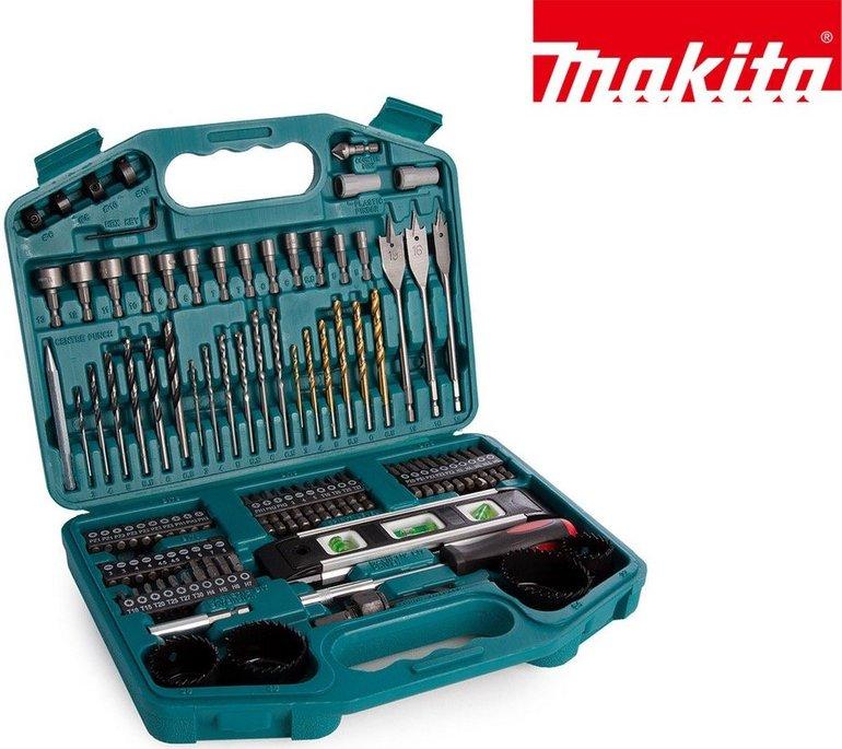 101-tlg. Makita Bohrer- und Bitset (P-67832) mit Koffer für 25,90€ inkl. Versand