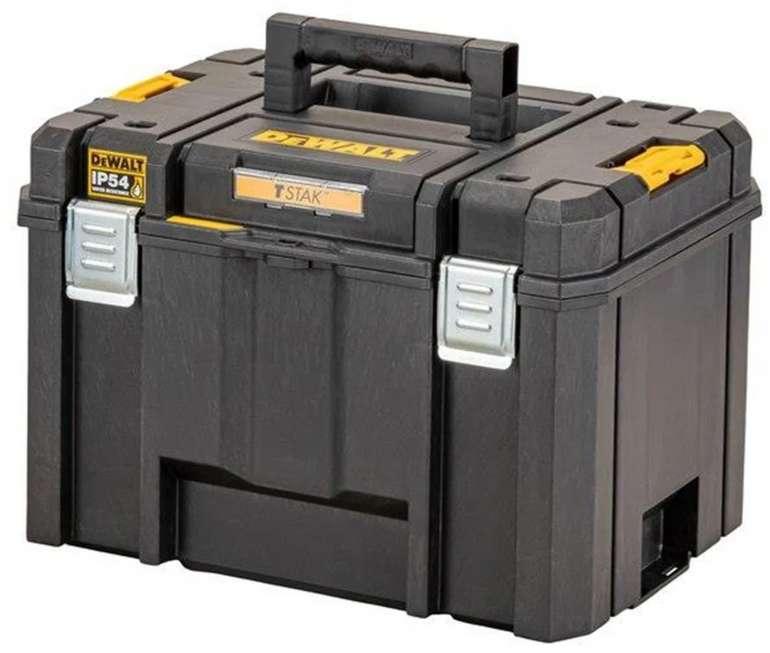 Dewalt TSTAK Tiefe Werkzeugbox mit 44 Liter Volumen für 37,37€inkl. Versand (statt 48€)