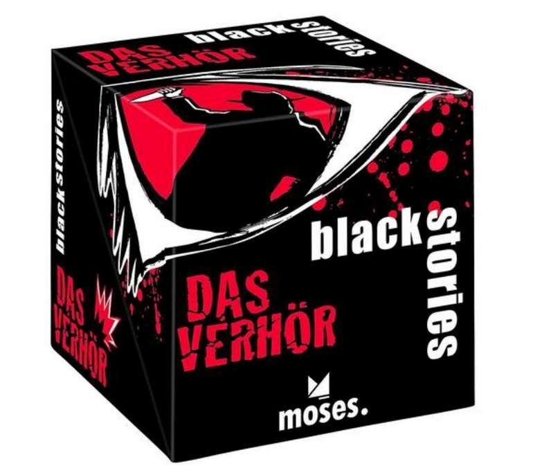 Black Stories Das Verhör Kartenspiel für 12,99€ inkl. Versand (statt 19€)