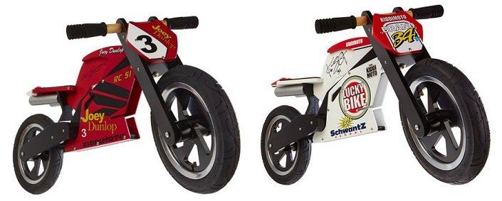 kiddimoto Laufrad Heroes Superbikes für 124,92€ inkl. VSK (statt 170€)