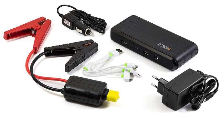 """Technaxx Jump-Starter 3in1 """"TX-78"""" (Starthilfe, Powerbank + Notlicht) für 35,90€"""