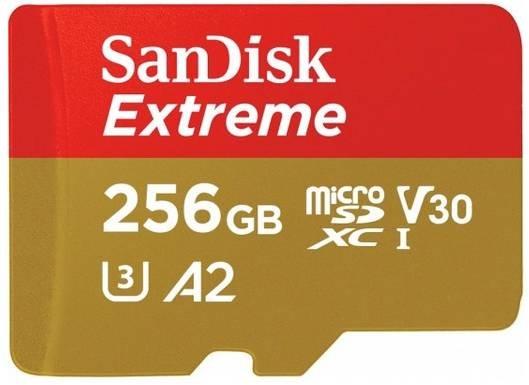 SanDisk Extreme 256GB A2 microSD Karte für 47,76€ inkl. Versand (statt 58€)
