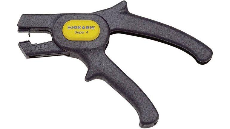 Jokari SUPER 4 20040 automatische Abisolierzange 0.5 bis 4mm² für 11€ inkl. VSK