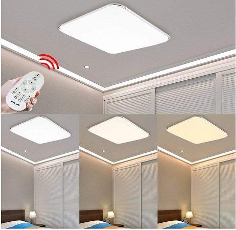 30% Rabatt auf huigou LED Deckenlampen, z.B 64W IP44 Badlampe für 48,29€
