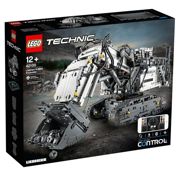 Lego Technic - 42100 Liebherr Bagger R 9800 für 320,23€ (statt 354€)