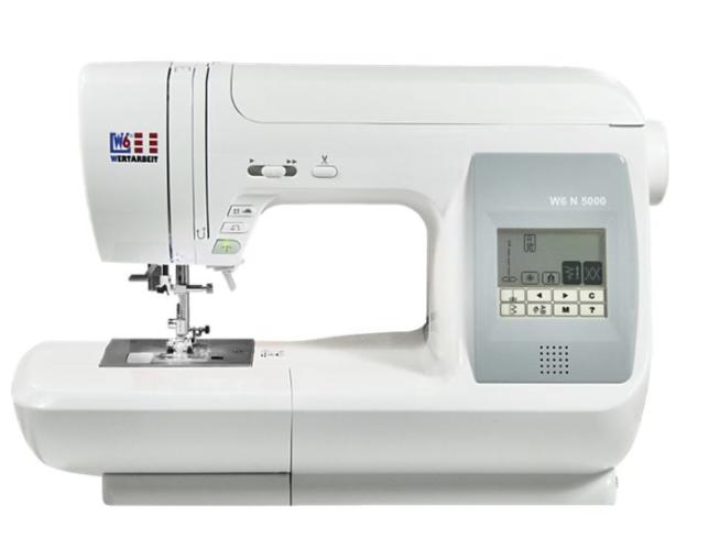 W6 N 5000 computergesteuerte Nähmaschine für 374,91€ inkl. Versand (statt 429€)