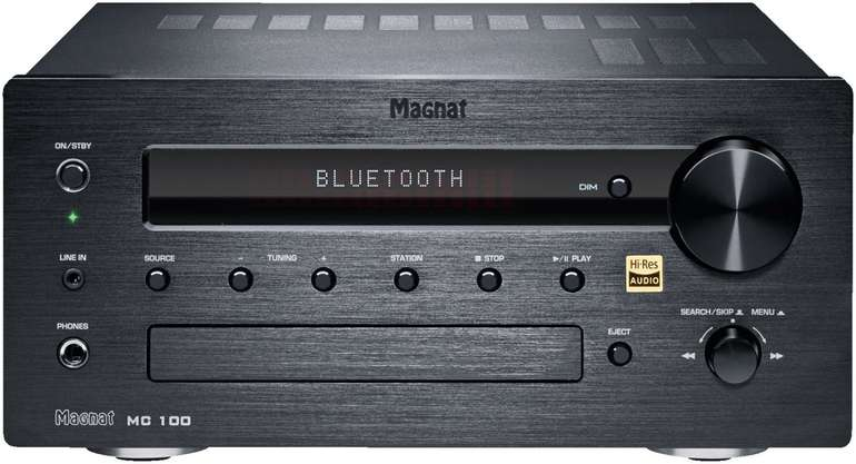 Magnat MC 100 CD Receiver mit 140 Watt für 349€ inkl. Versand (statt 409€)