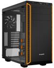 be quiet! Pure Base 600 schwarz/orange Glasfenster Gehäuse für 59€ (statt 78€)