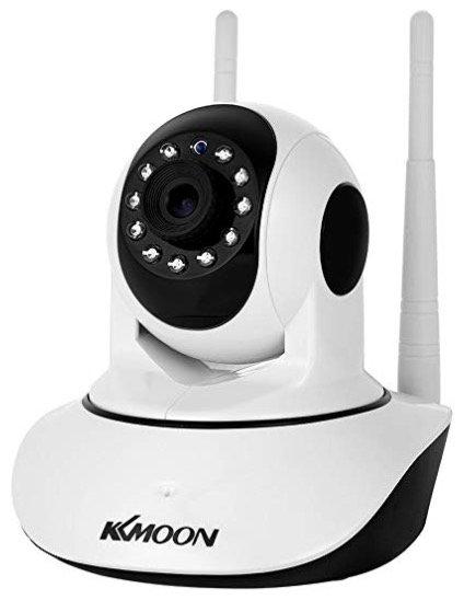 Cacagoo KKMoon IP-Überwachungskamera (WiFi & IR) mit 2-Wege-Audio für 29,90€