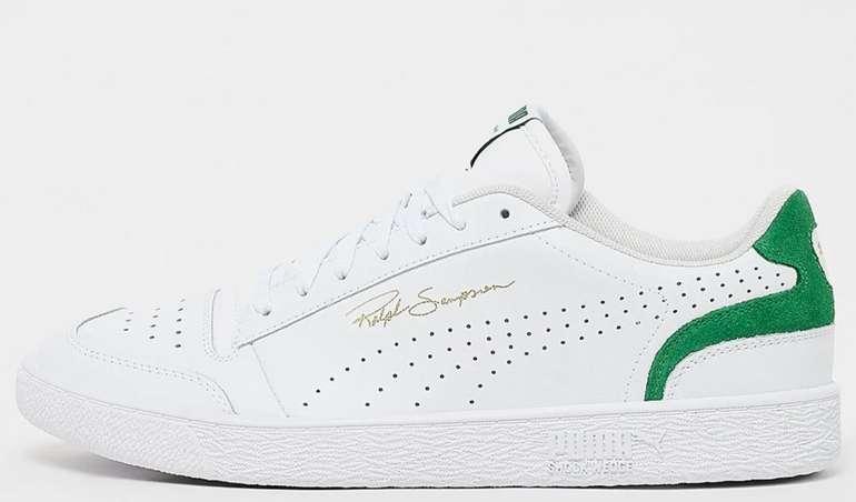 Puma Ralph Sampson Lo Sneaker in weiß-grün für 38,99€inkl. Versand (statt 73€)