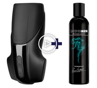 Satisfyer Men Vibration + 300ml Gleitgel für 15,96€ inkl. Versand (statt 28€)