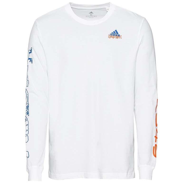 Adidas Doodle Lineage Herren Langarmshirt für 22,94€ inkl. Versand (statt 28€)