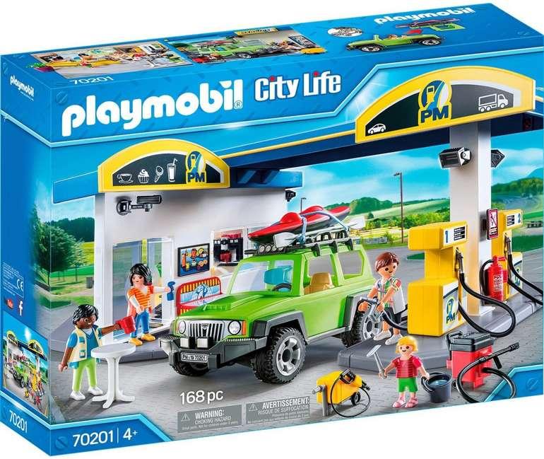 Playmobil City Life - Große Tankstelle (70201) für 39,01€ inkl. Versand (statt 48€)
