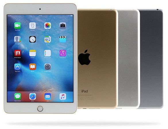 """Apple iPad Mini 4 WiFi mit 128GB Speicher für 224,91€ - Zustand: """"Wie neu"""""""