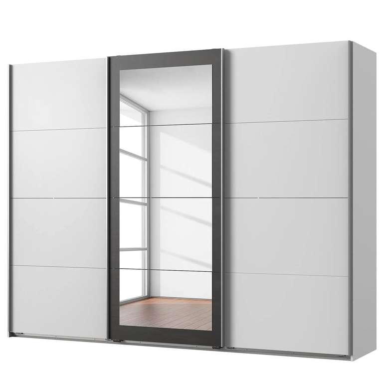 """Schwebetürenschrank """"Minden"""" in Weiß/Graphit mit 270 cm für 414,99€ inkl. Versand (statt 519€)"""