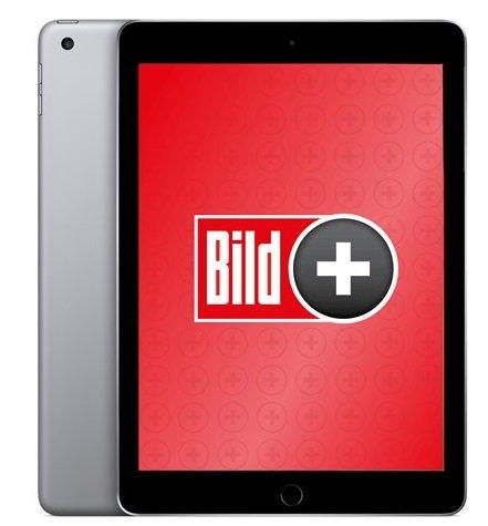 2 Jahre BILDplus Premium + Apple iPad 2018 mit 32GB für 14,99€ mtl.