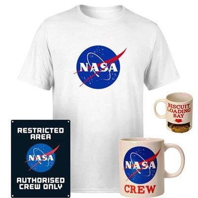 NASA Paket: T-Shirt, Tasse & Blechschild für 19,99€ inkl. Versand (statt 44€)