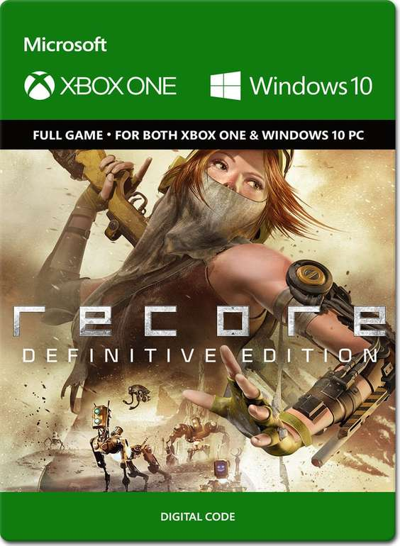 ReCore: Definitive Edition Downloadcode (Xbox One/PC Play Anywhere) für 4,99€ (statt 20€)