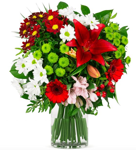 """Blumenstrauß """"Herzklopfen"""" für 19,77€ inkl. Versand (statt 24€)"""