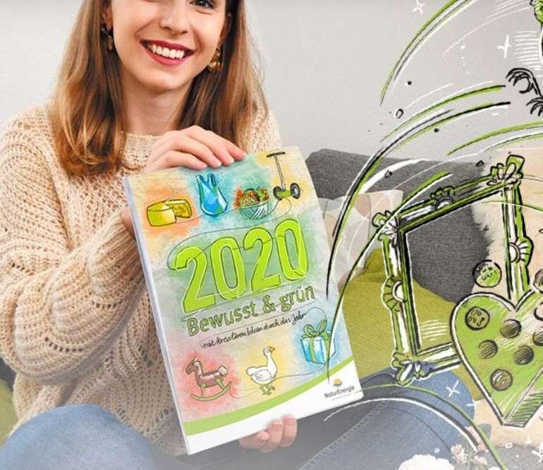 Gratis: Familienkalender 2020 bei NaturEnergie komplett kostenlos bestellen