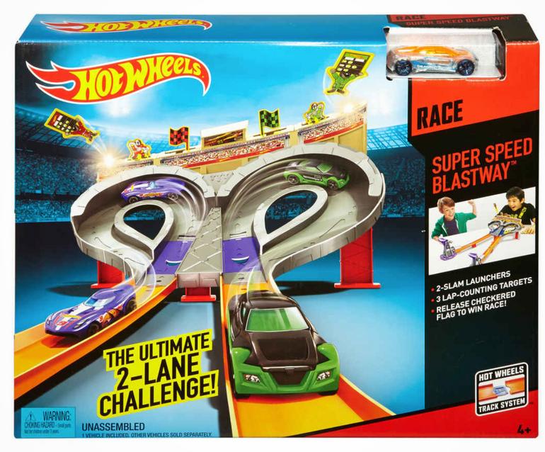 Hot Wheels Super Speed Blastway Track-Set für 15,90€ inkl. Versand