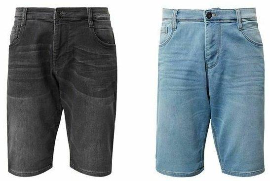 Tom Tailor Josh Regular Slim Herren Bermuda Jeans Shorts
