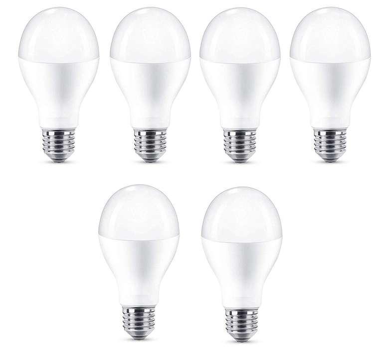 6er Pack Attralux 18,5W LED Lampe (2700 K, 2000 Lumen, E27) für 14,99€