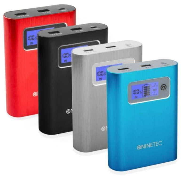 Ninetec PowerDrive: 128GB Flash Speicher & 13.400mAh Powerbank für 19,99€ (statt 29€) - B-Ware!
