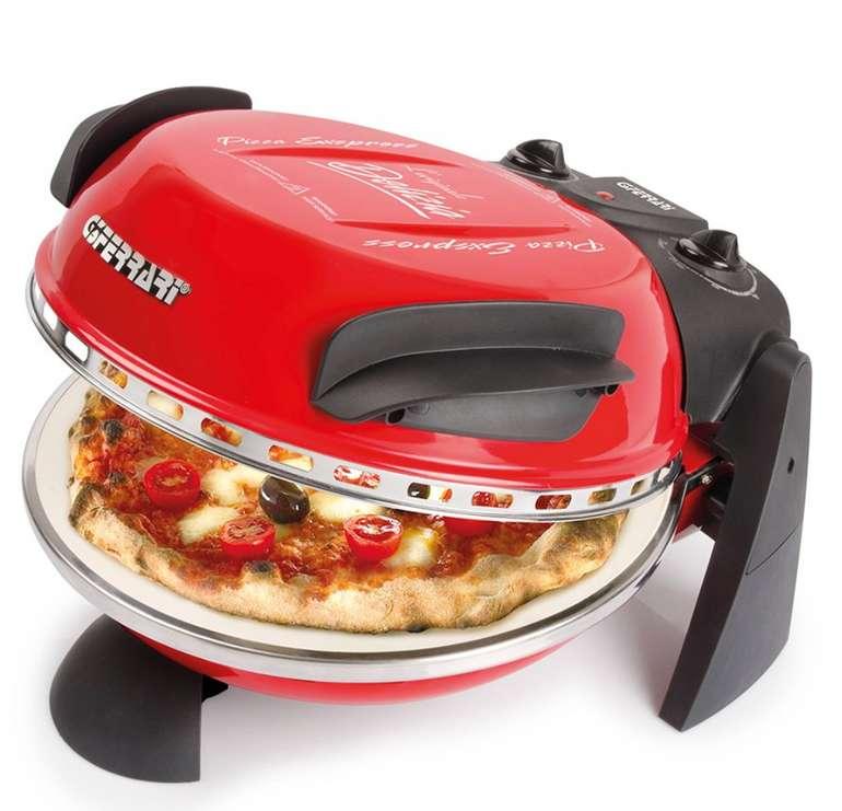 G3Ferrari G10006 Pizza Express Delizia Pizzamaker (1200 W) für 84,44€ inkl. Versand (statt 104€)