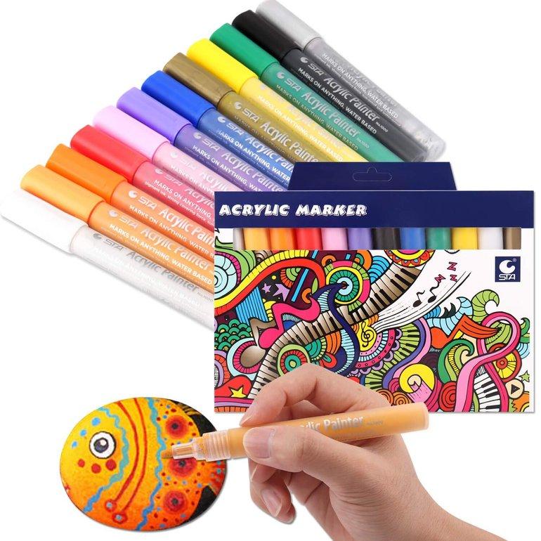 Rakaraka Acryl Marker Stifte für 8,39€ inkl. Prime Versand