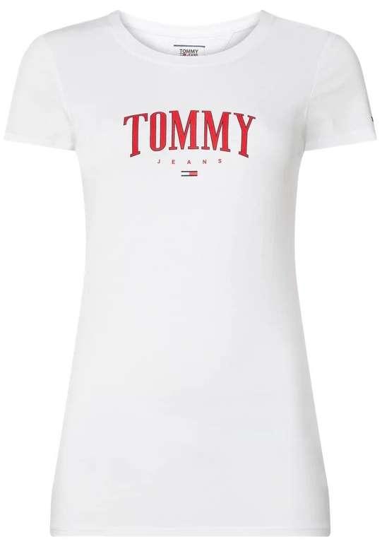 Tommy Jeans Damen T-Shirt aus Bio-Baumwolle mit Logo-Print für 14,99€ inkl. Versand (statt 21€)