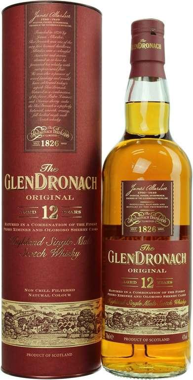 Bestpreis! Glendronach 12 Jahre 0,7l Malt Scotch Whisky mit 43.0% für 25,04€ inkl. VSK (statt 36€) - Paydirekt