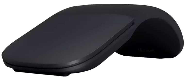 Microsoft Surface Arc Mouse Funkmaus in Schwarz für 44,90€inkl. Versand (statt 64€)