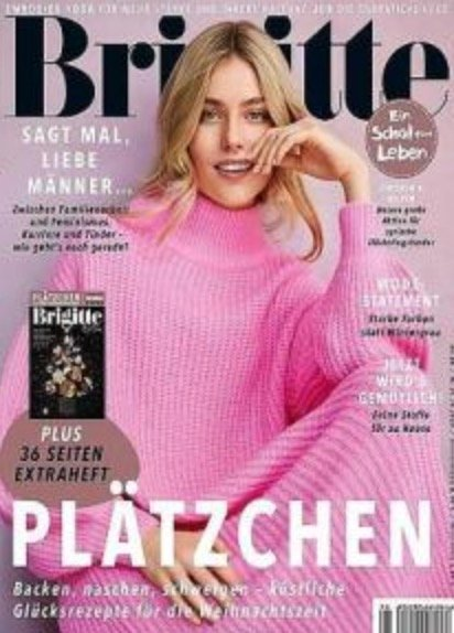 """Halbjahres-Abo der Zeitschrift """"Brigitte"""" für 52€ + z.B. 40€ Bestchoice Gutschein"""