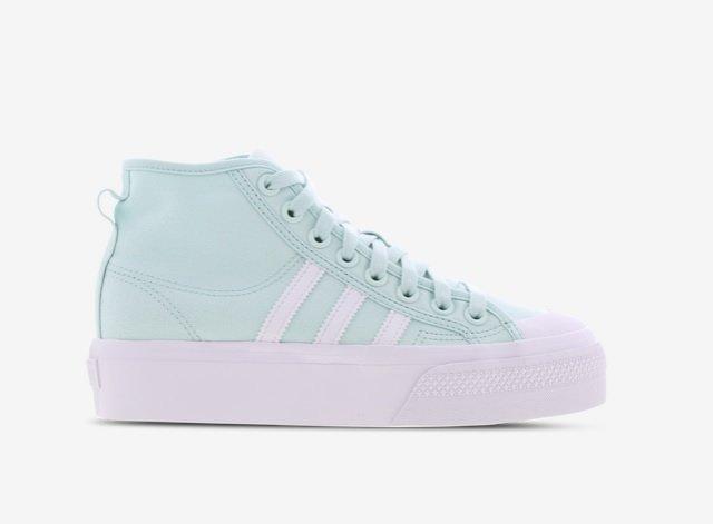 Adidas Nizza Platform High Damen Sneaker in Mint für 49,99€ inkl. Versand (statt 60€)