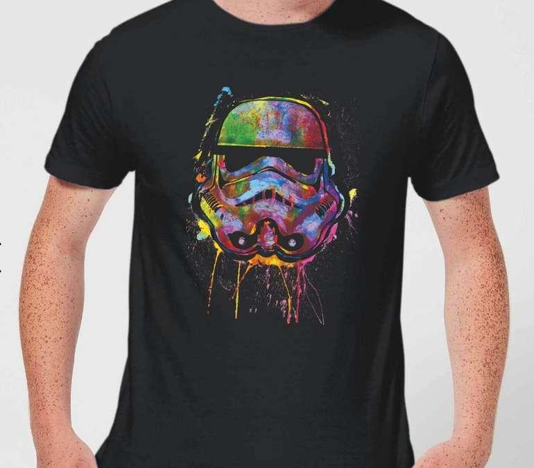 Star Wars Stormtrooper Splat T-Shirt aus 100% Baumwolle für 10,99€ und Pullover ab 18,99€