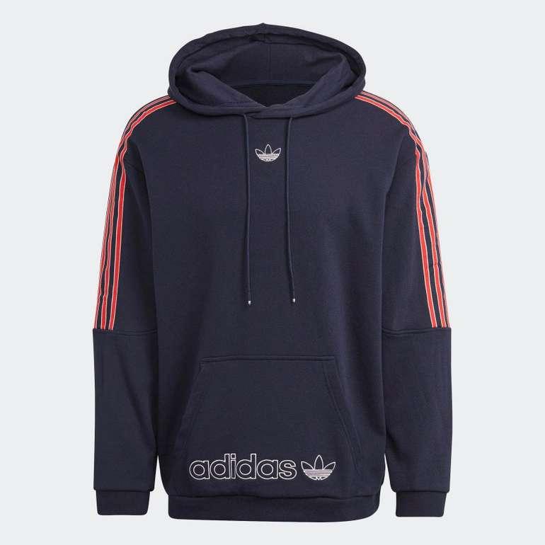 Adidas Originals SPRT 3-Streifen Hoodie in zwei Farben für je 56€ inkl. Versand (statt 80€)